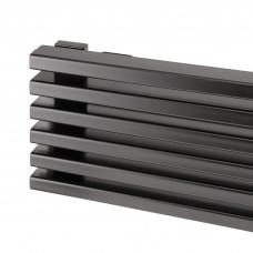 Трубчатый радиатор Loten Grey ZN 1500 с нижним подключением, 8 секций