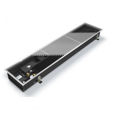 Внутрипольный конвектор длиной 2,1 м - 3 м Varmann Qtherm 370x110x2250