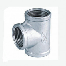 Аксессуар для увлажнителей воздуха HygroMatik DN 40, тройник, нержавеющая сталь